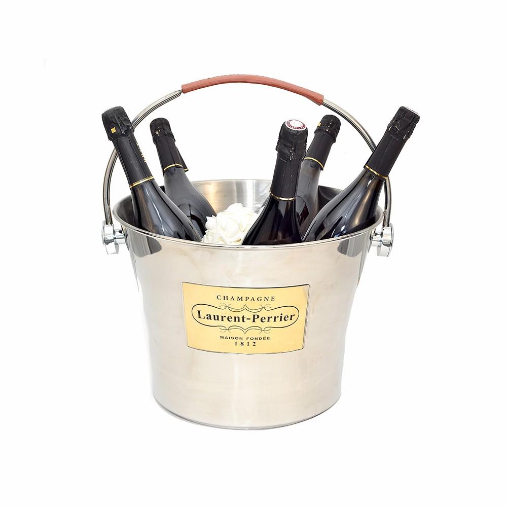 Vasque Champagne Anse  Laurent-Perrier (5/6 bouteilles)